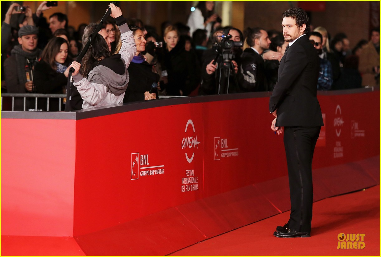 james franco tar rome film festival premiere 12