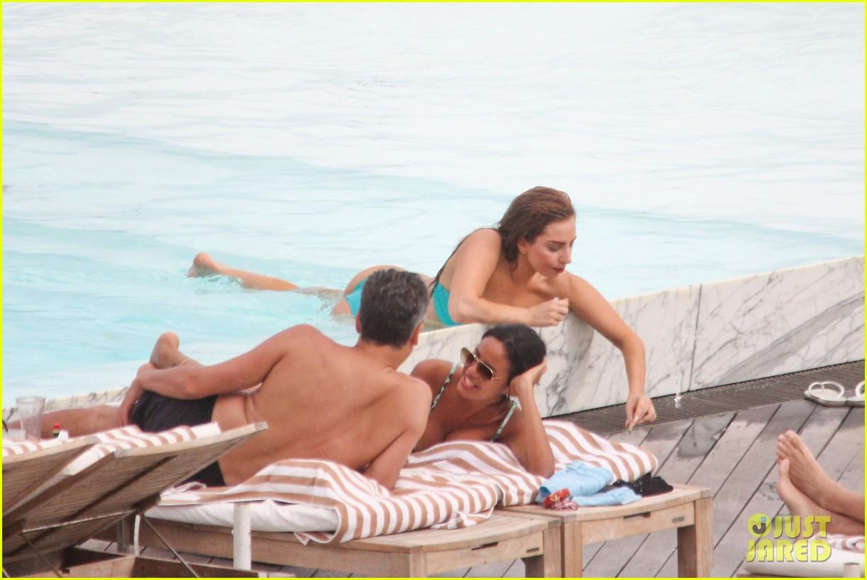 lady gaga bikini poolside babe 062753584