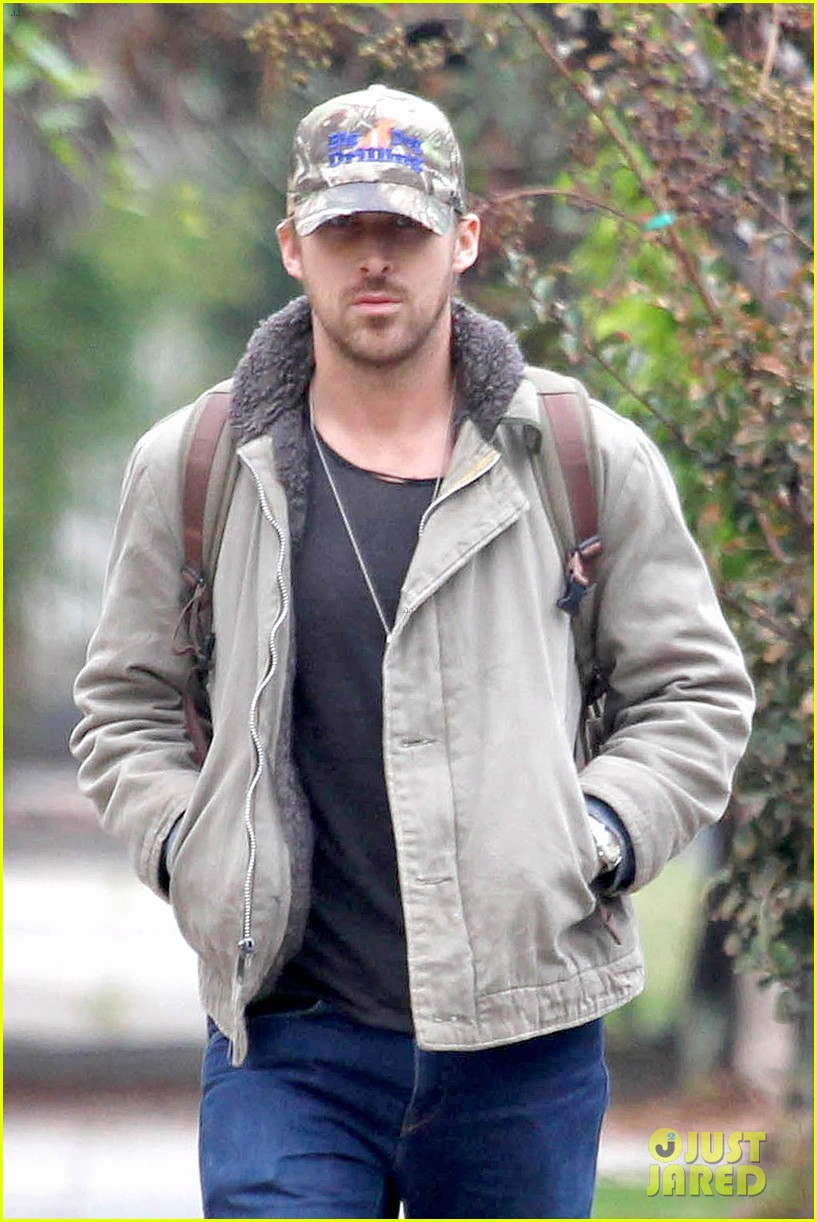 ryan gosling eva mendes visit friends separately 022766389