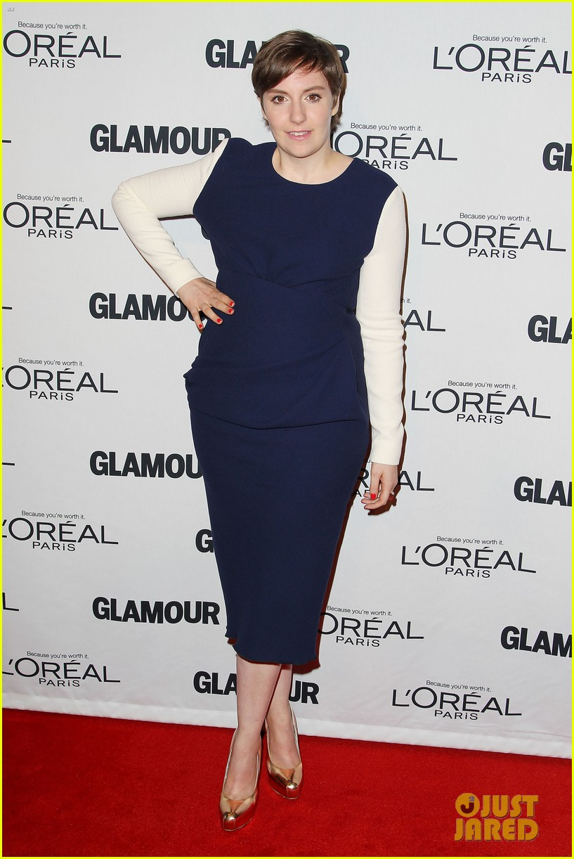 lena dunham glamour women of the year awards 2012 262756450