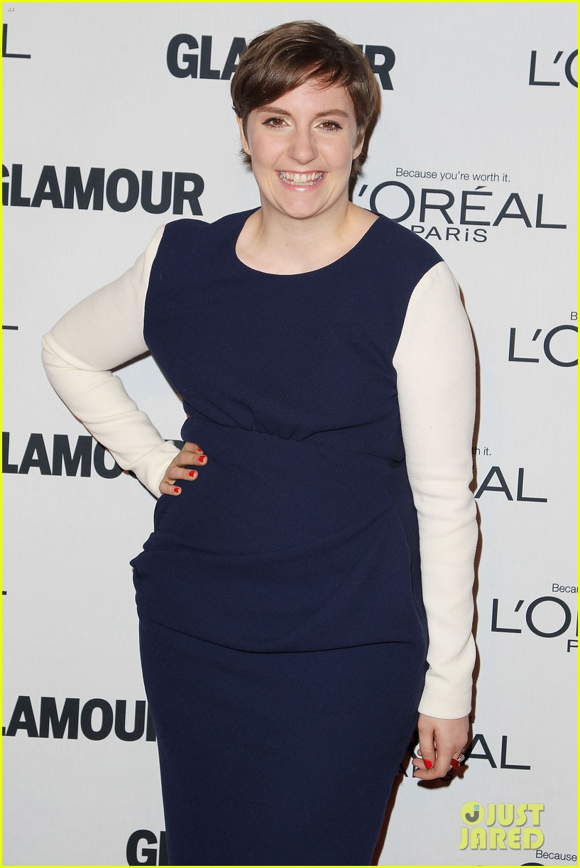 lena dunham glamour women of the year awards 2012 272756451