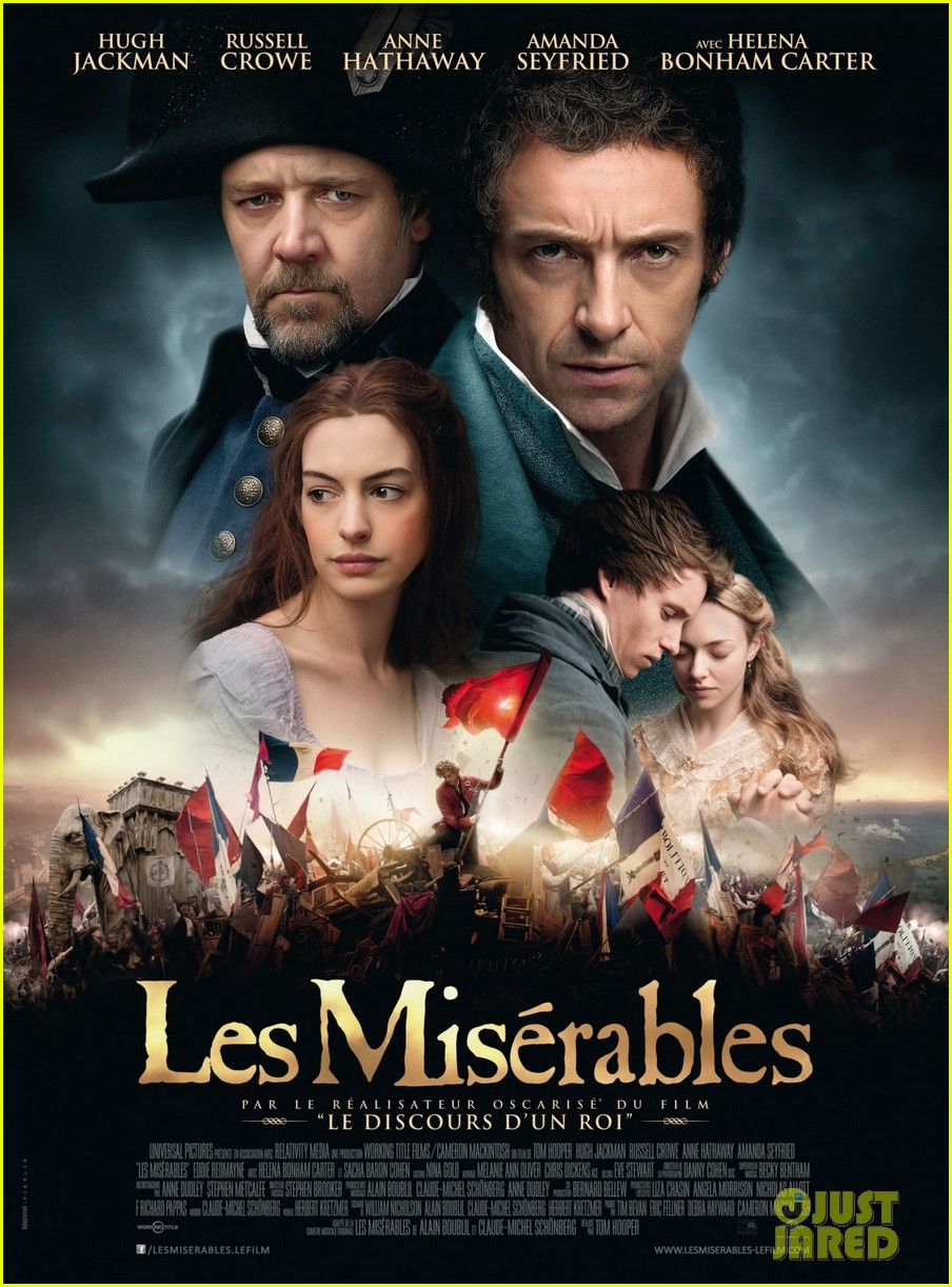 anne hathaway amanda seyfried new les miserables poster 032764141