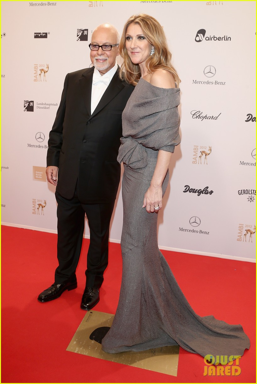 salma hayek celine dion bambi awards 2012 01