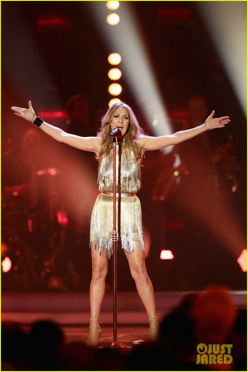 salma hayek celine dion bambi awards 2012 142762692