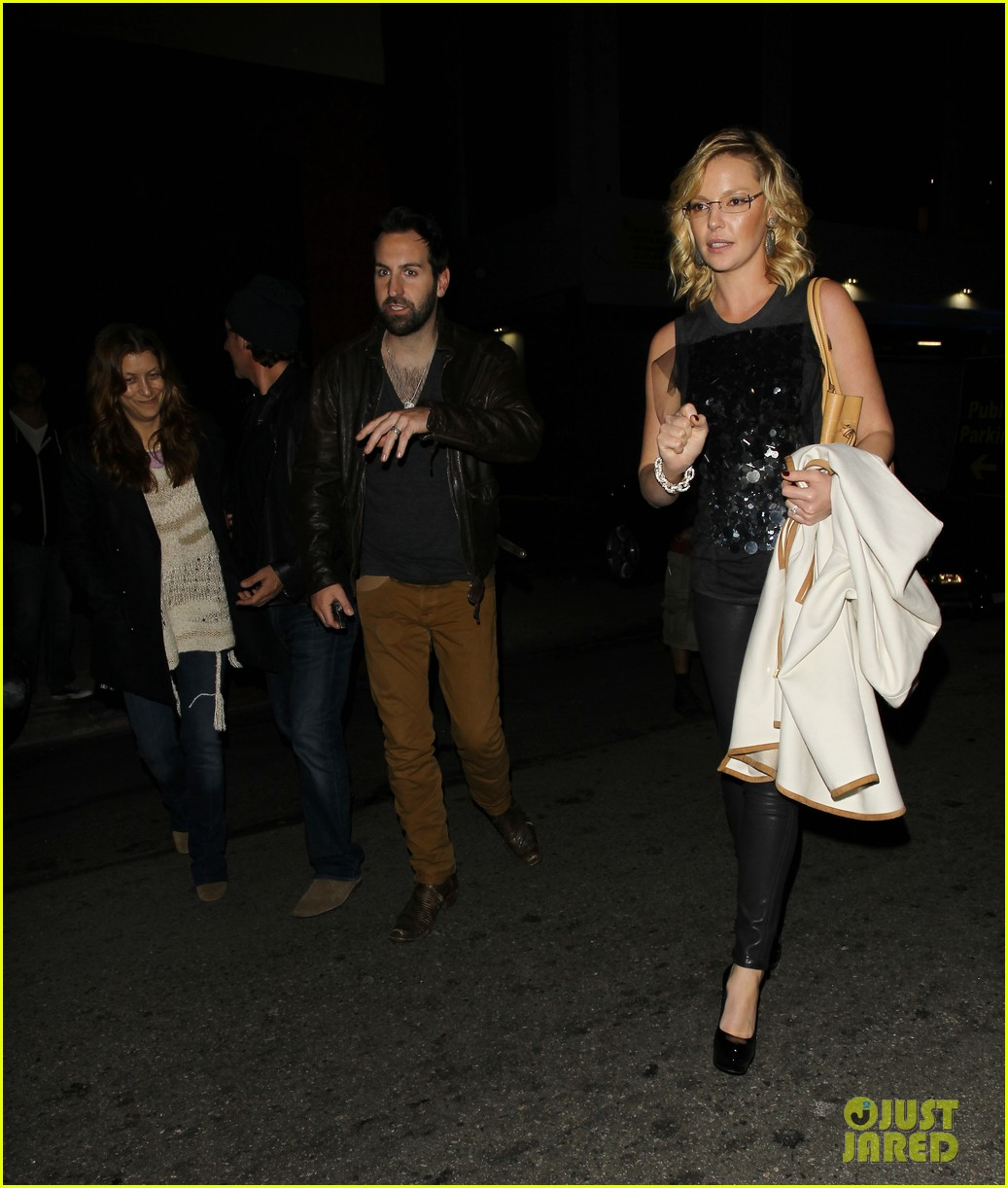 katherine heigl kate walsh josh kelley concert 09