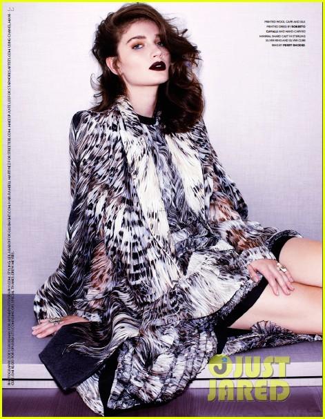 eve hewson stuns in flaunt magazine 02
