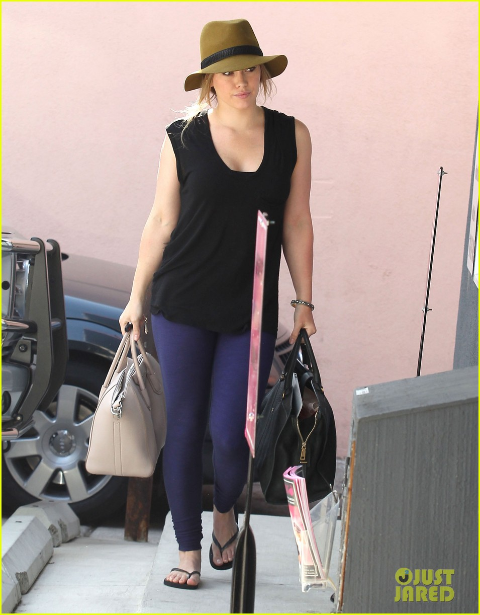 hilary duff chris mcmillan salon appointment 132765388