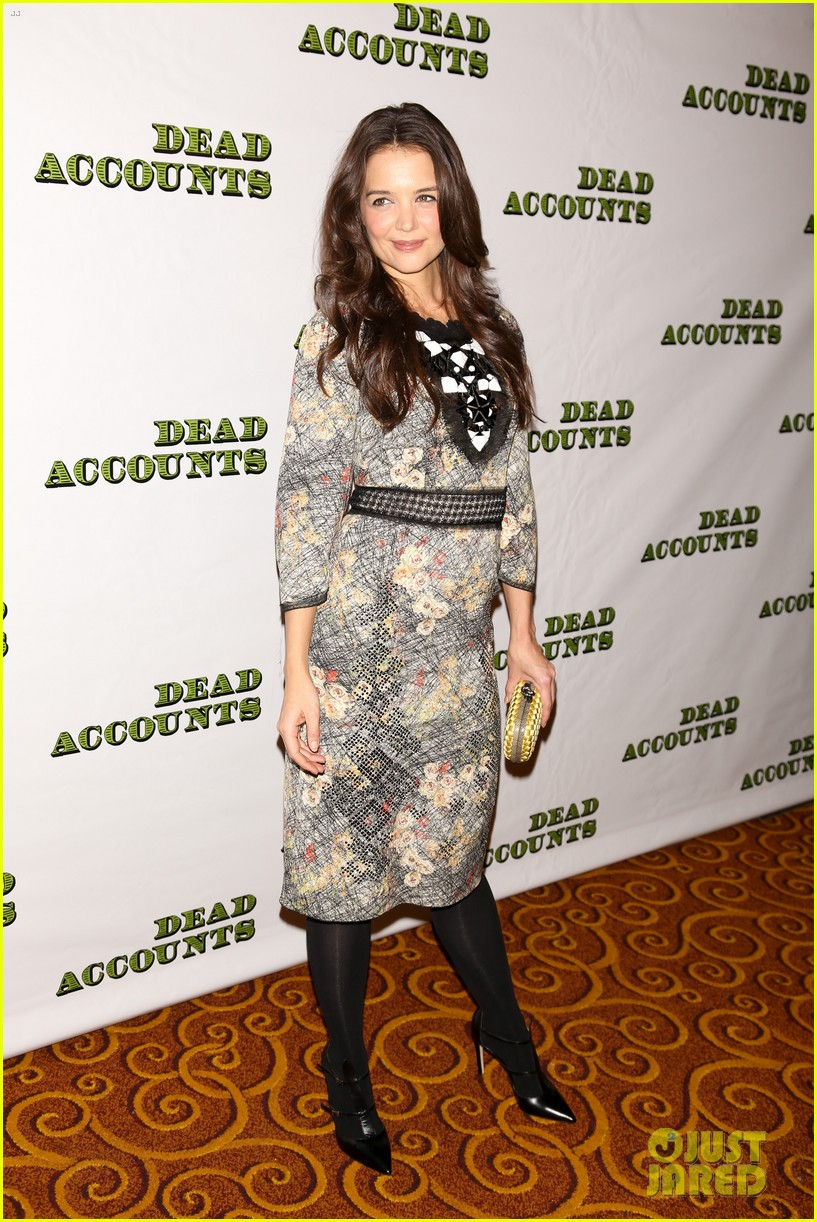 katie holmes dead accounts opening night on broadway 252766524