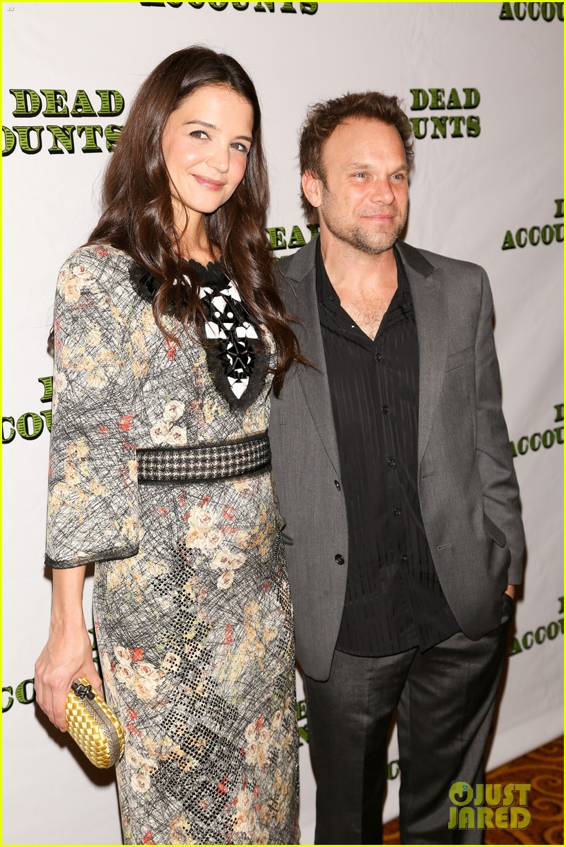 katie holmes dead accounts opening night on broadway 272766526
