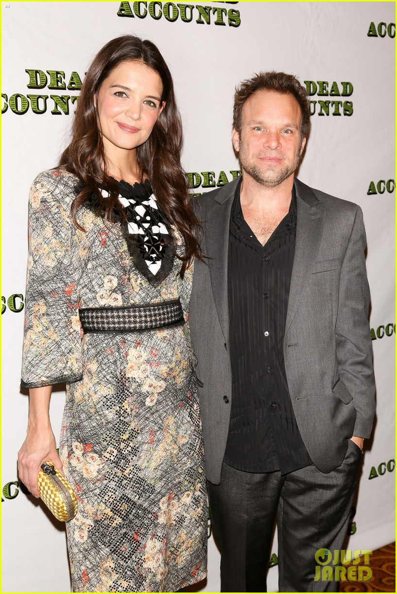 katie holmes dead accounts opening night on broadway 292766528
