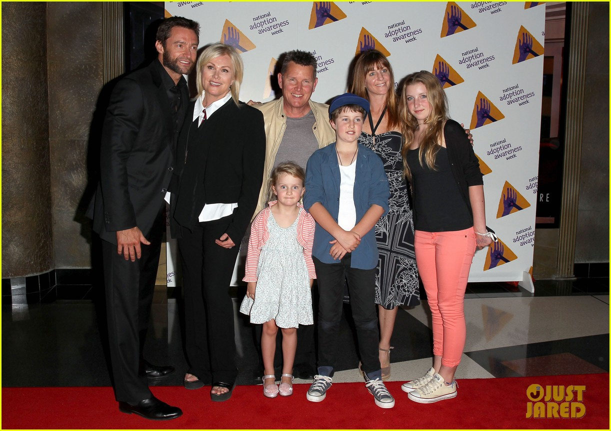 hugh jackman deborra lee furness adoption week event 10