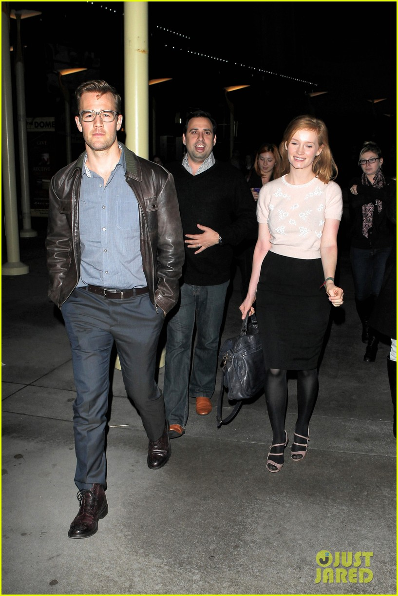 james van der beek movie date with wife kimberly brook 04
