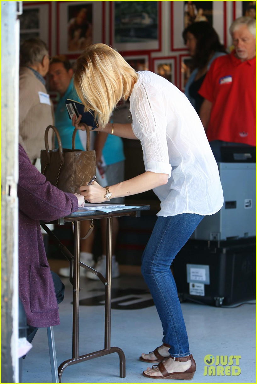 january jones election day voter 262751952