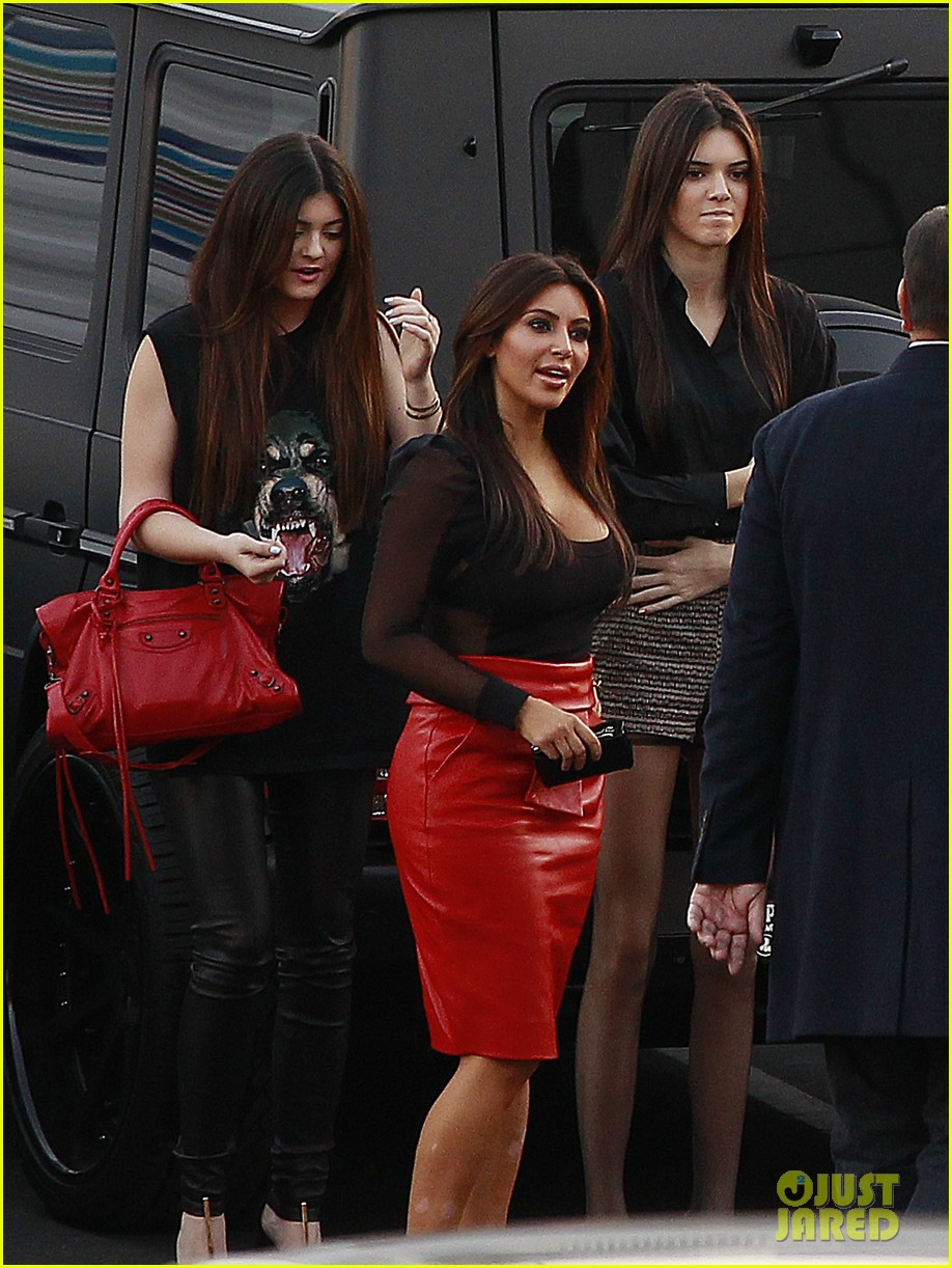 kim kardashian kanye west x factor dinner date 04
