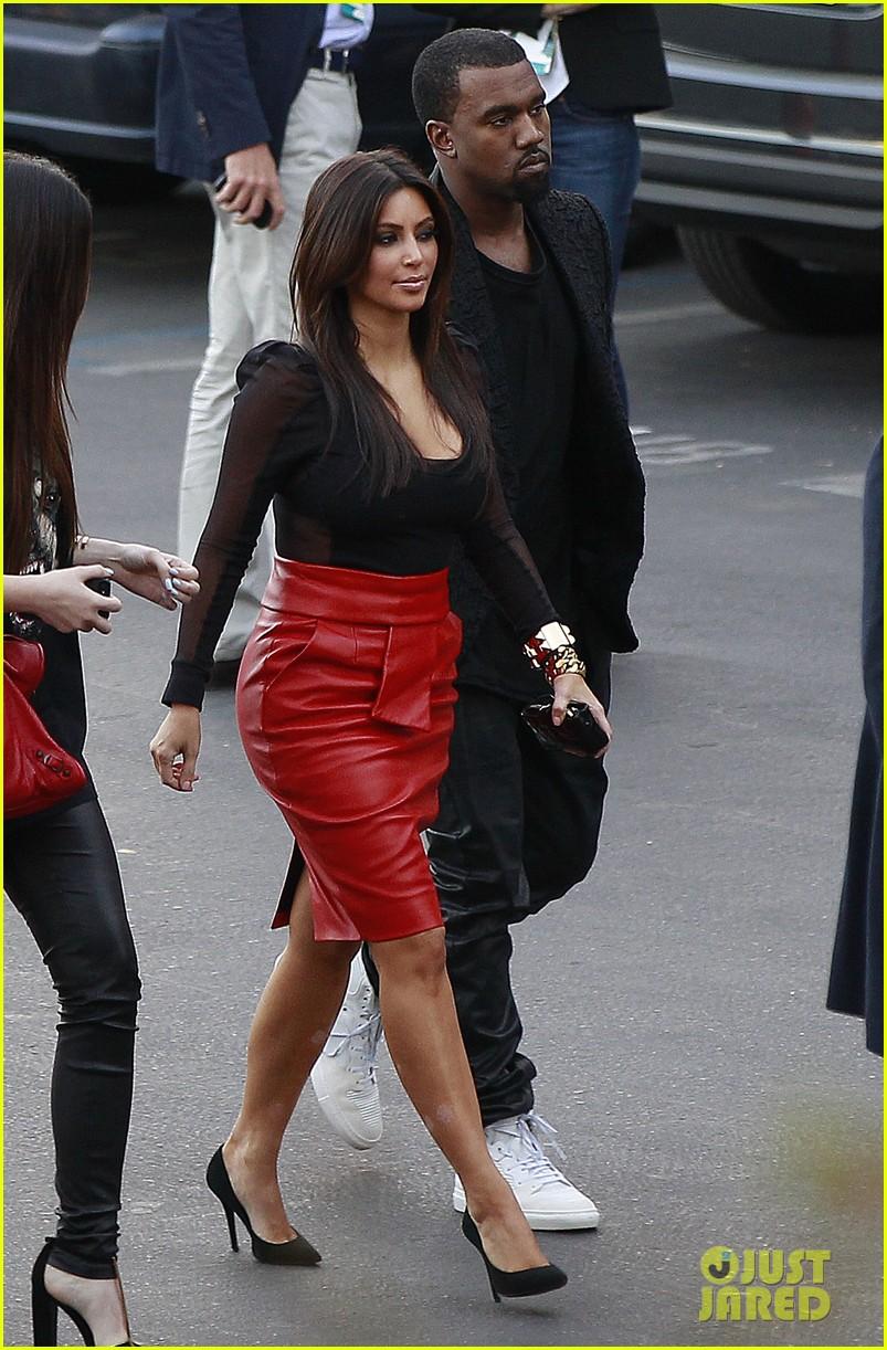 kim kardashian kanye west x factor dinner date 052762394