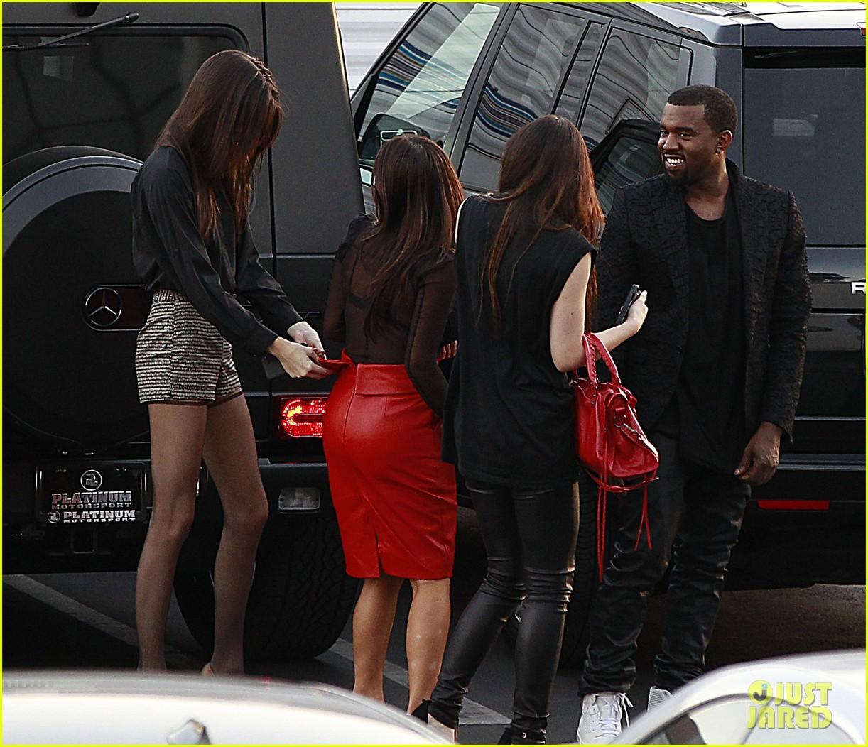 kim kardashian kanye west x factor dinner date 092762398