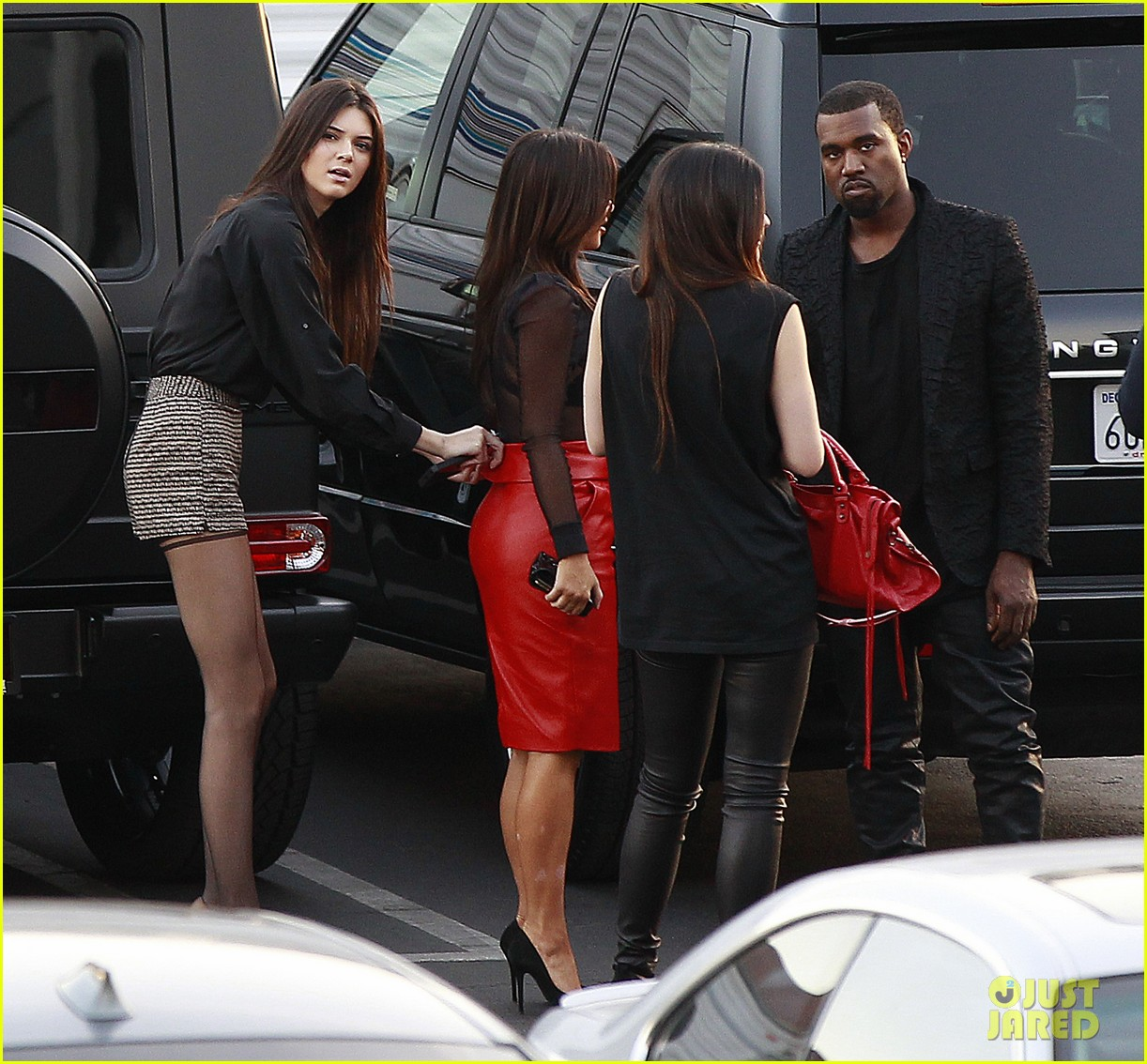 kim kardashian kanye west x factor dinner date 112762400