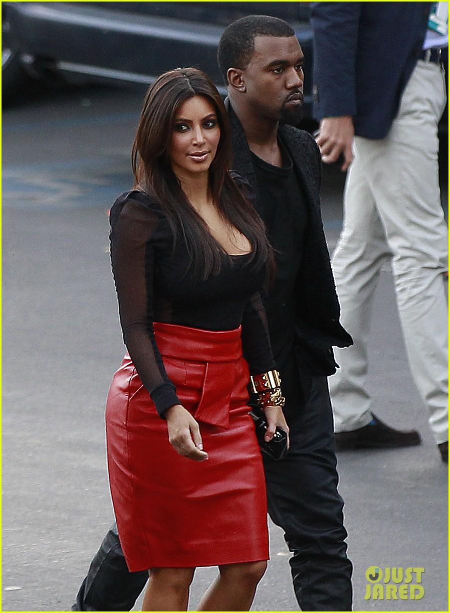 kim kardashian kanye west x factor dinner date 132762402