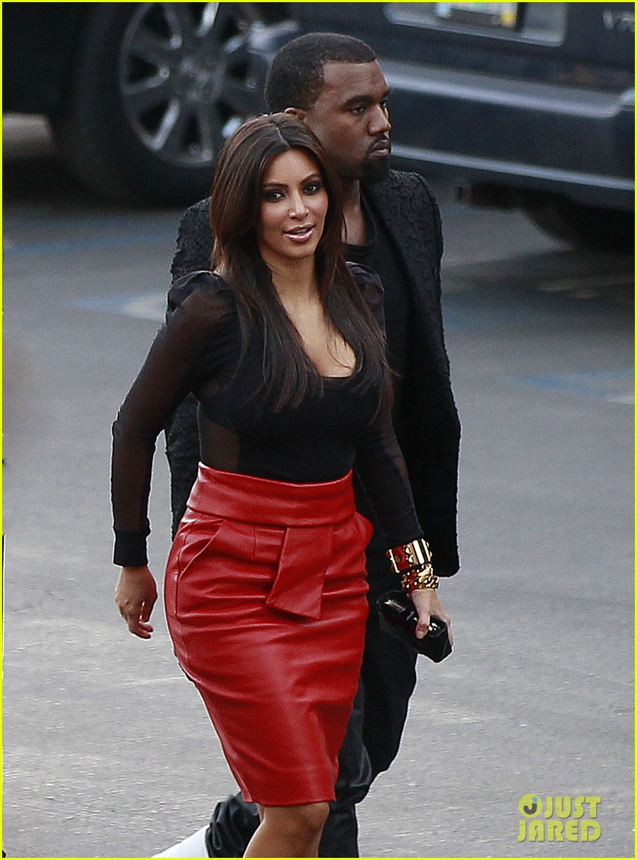kim kardashian kanye west x factor dinner date 14