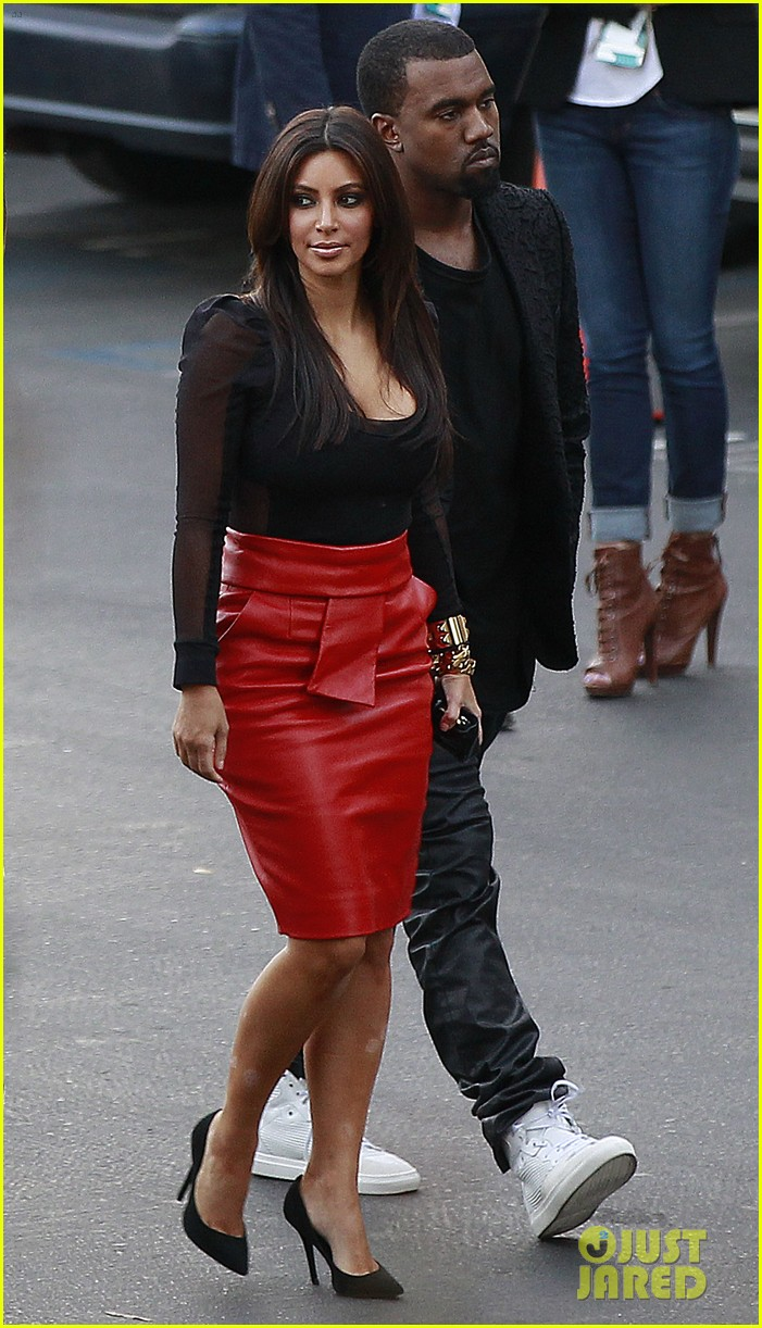 kim kardashian kanye west x factor dinner date 15