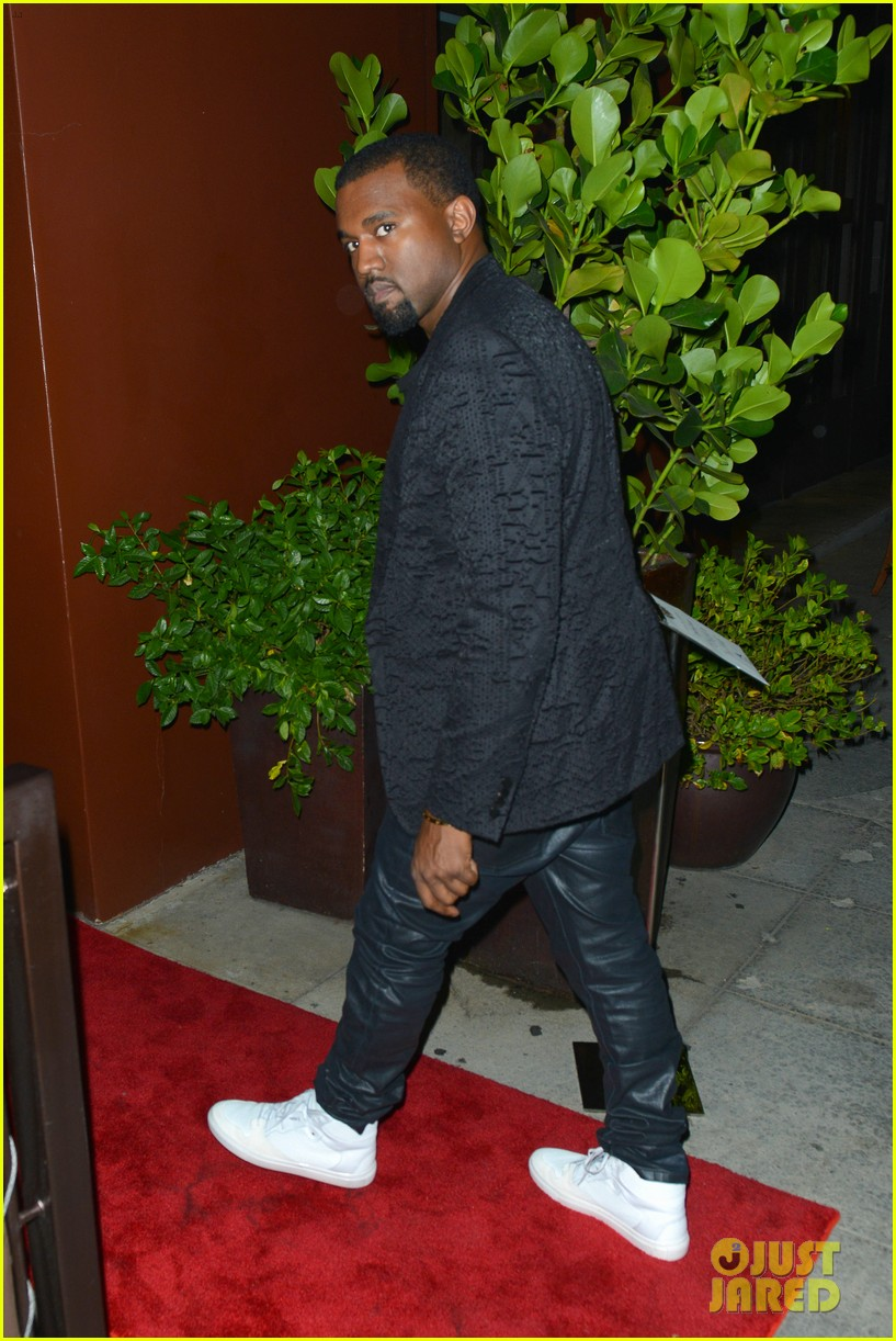 kim kardashian kanye west x factor dinner date 172762406