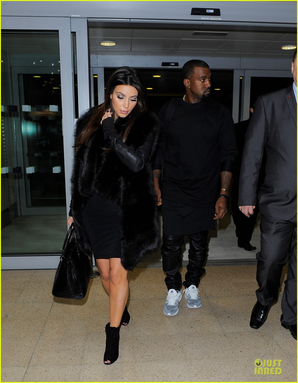 kim kardashian kanye west germany bound couple 07