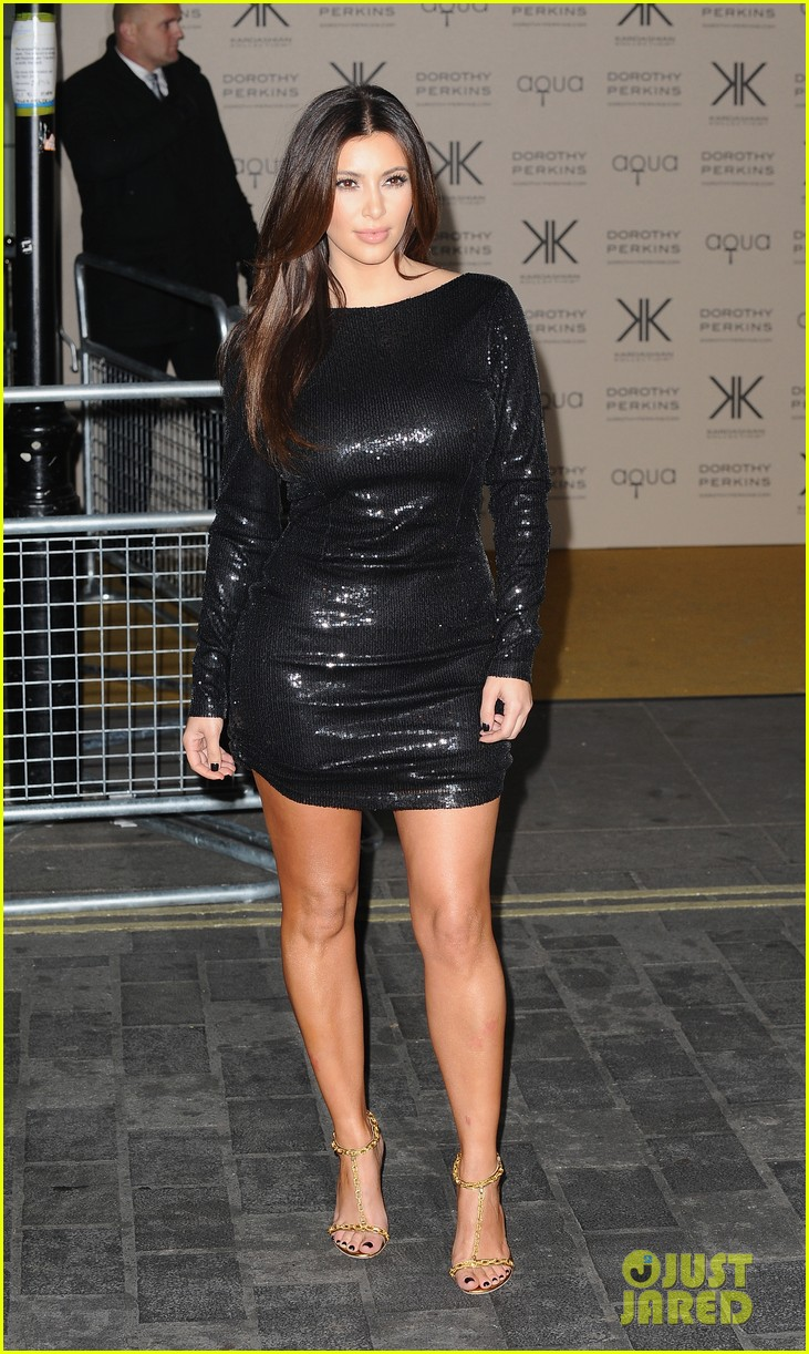kim kardashian hakkasan dinner with kanye west 01