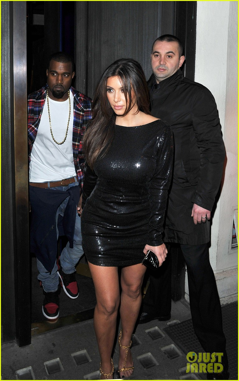 kim kardashian hakkasan dinner with kanye west 102753903
