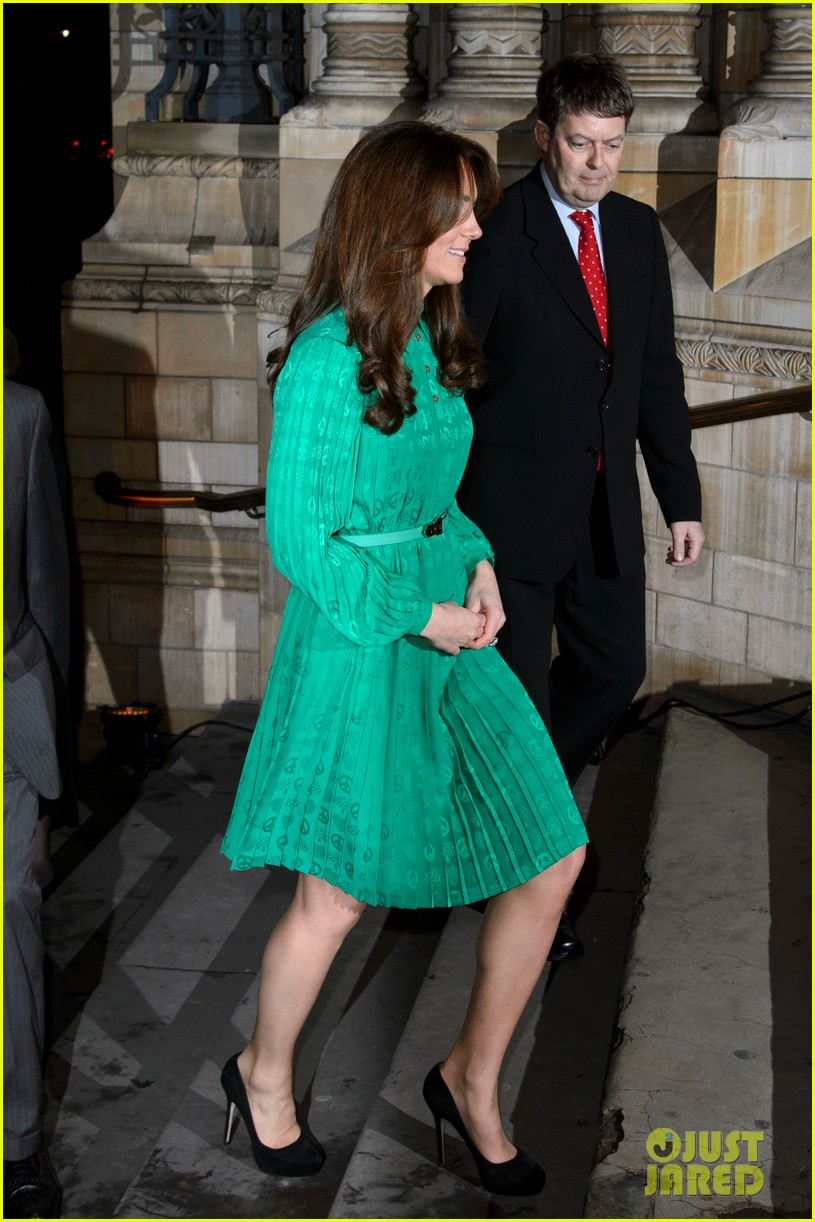 duchess kate natural history museum gallery opening 04