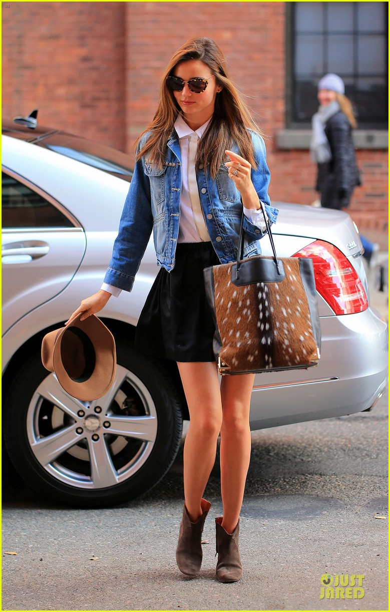 miranda kerr denim day in new york 032763195