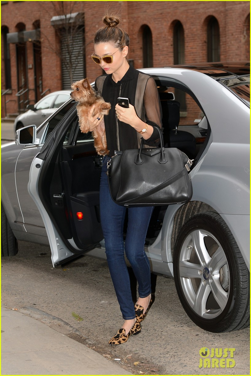 miranda kerr sunday morning with frankie 11