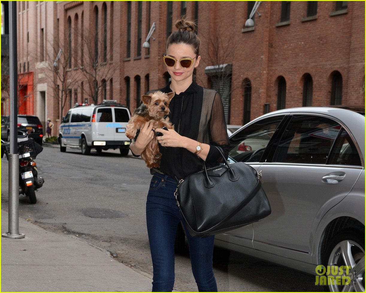 miranda kerr sunday morning with frankie 242763633