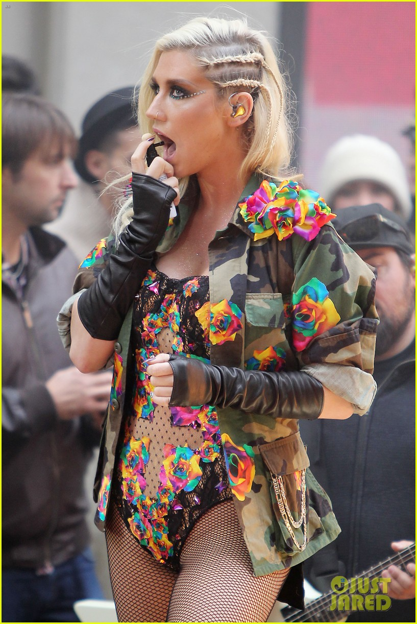 kesha today show concert watch now 162761398