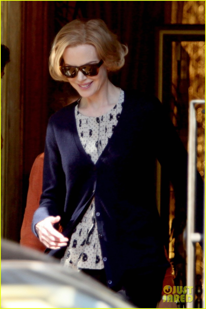nicole kidman grace of monaco set arrival 032757457
