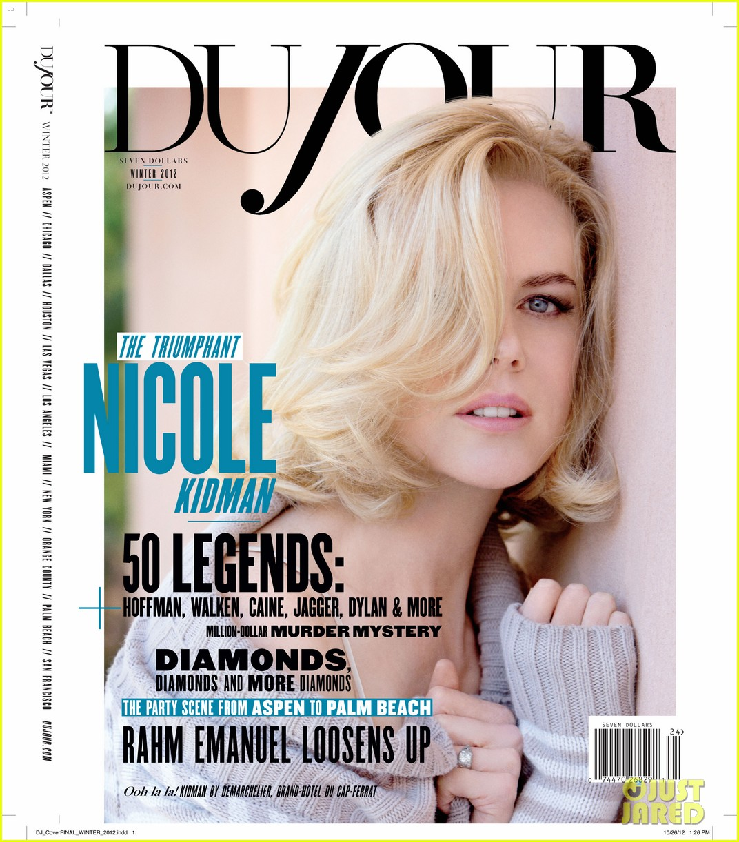nicole kidman covers dujour magazine winter 20122756498