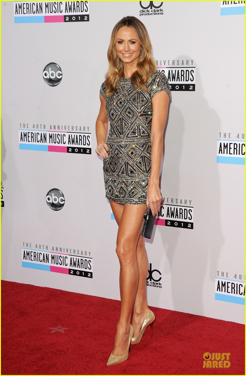 stacy kiebler amas red carpet 092760229
