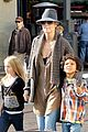 heidi klum holiday shopping at the grove 08