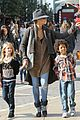 heidi klum holiday shopping at the grove 12