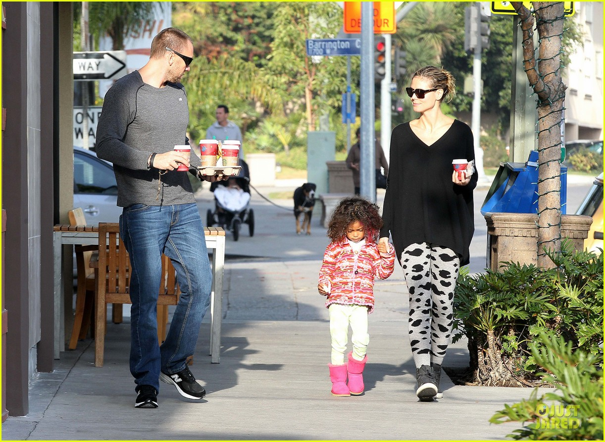 heidi klum lunch stop with the kids 072763993