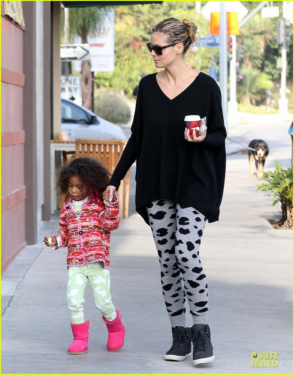 heidi klum lunch stop with the kids 152764001