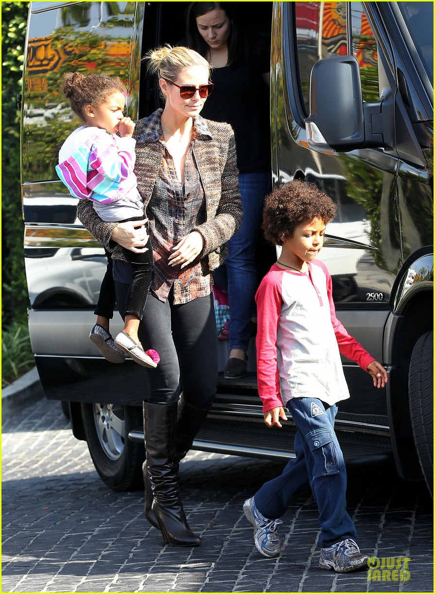heidi klum lunch stop with the kids 202764006
