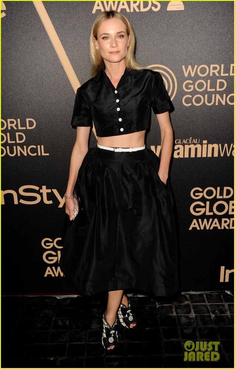 diane kruger olivia munn hfpa instyle golden globes season party 092766675