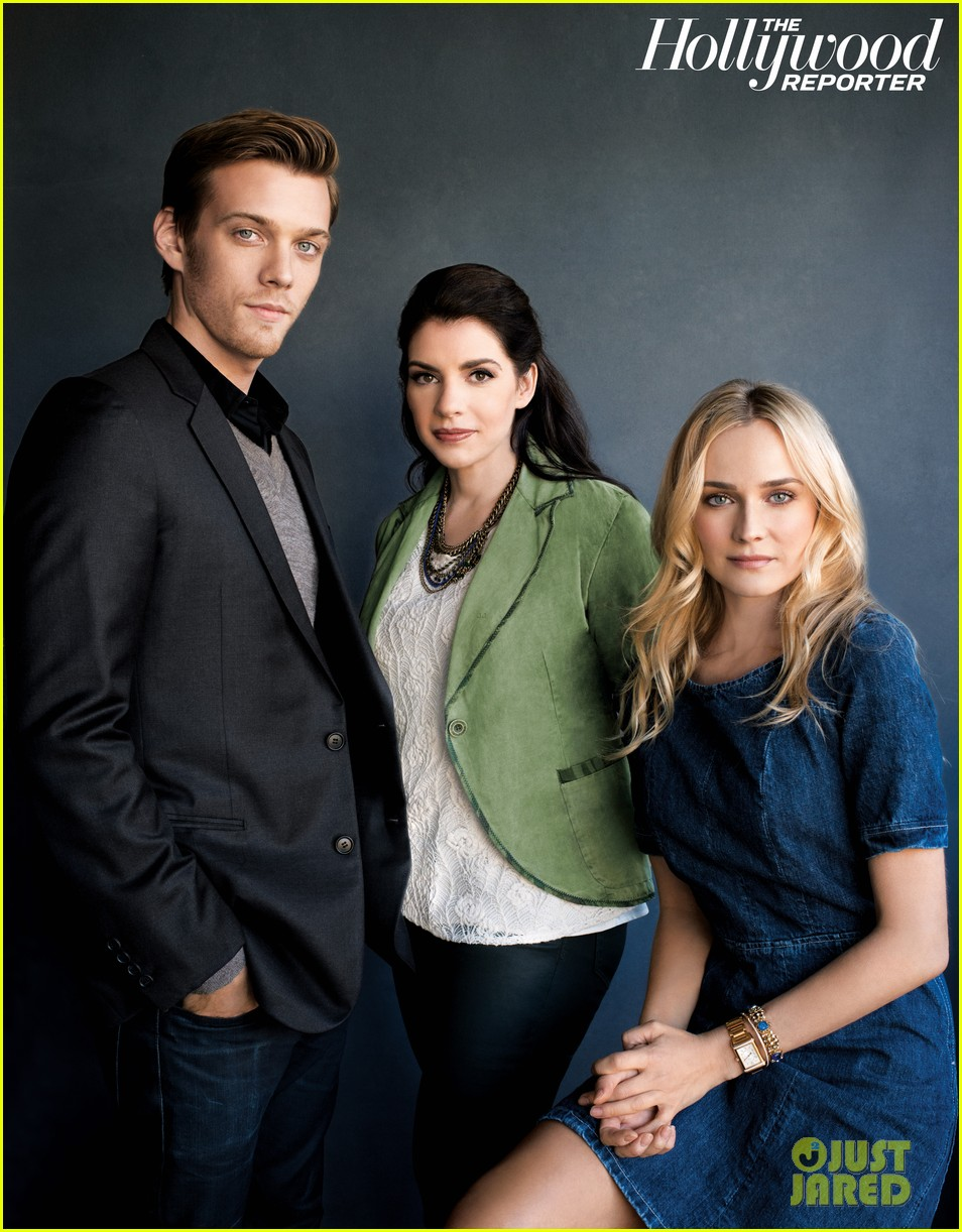diane kruger jake abel the host thr power authors feature 062766102