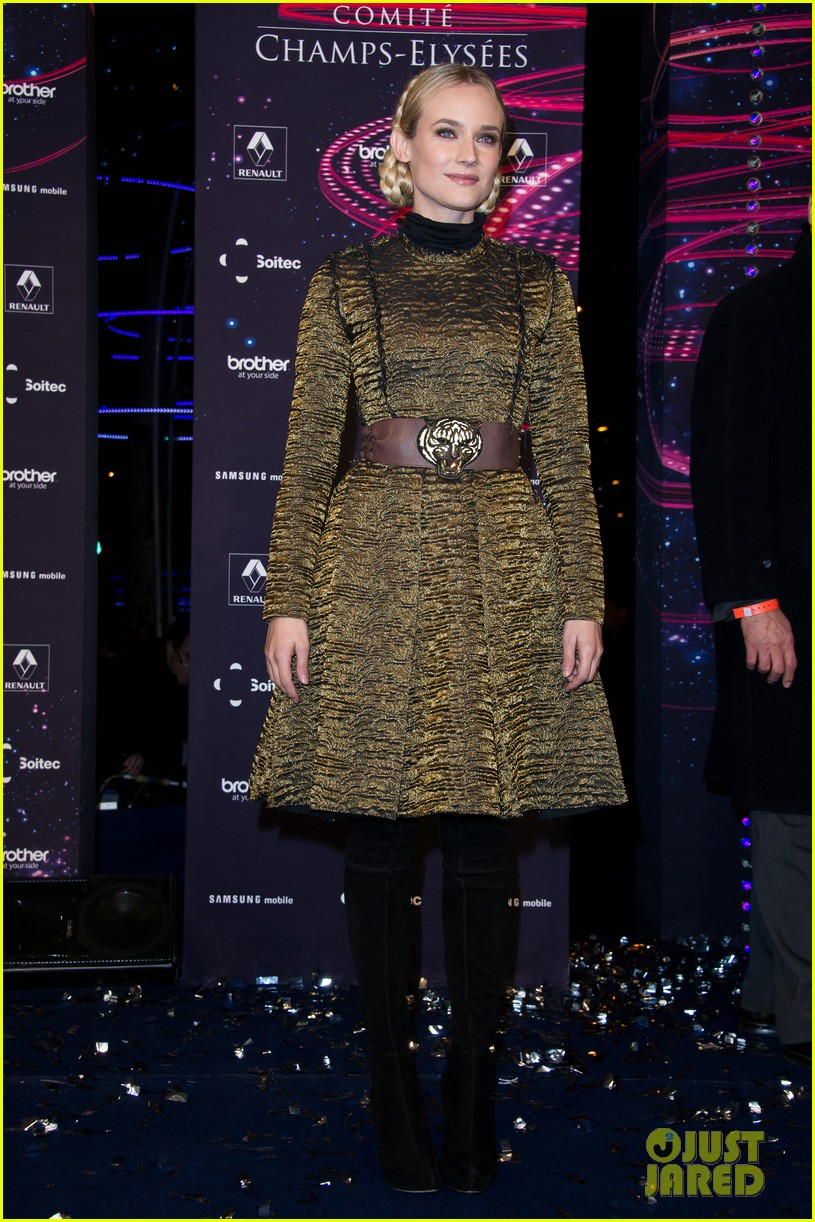diane kruger champs elysees christmas lights launch 012762139