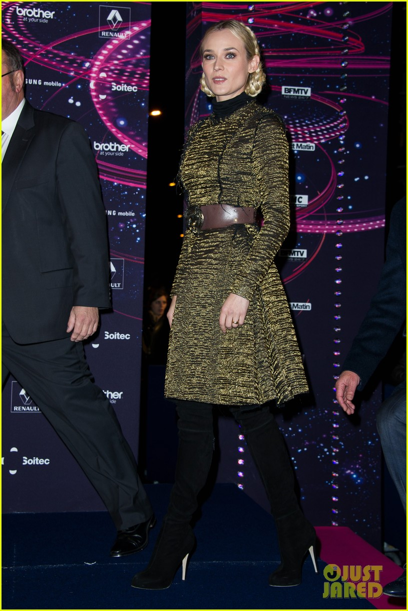 diane kruger champs elysees christmas lights launch 142762152
