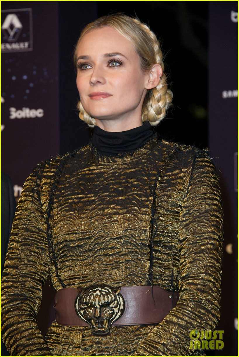 diane kruger champs elysees christmas lights launch 172762155