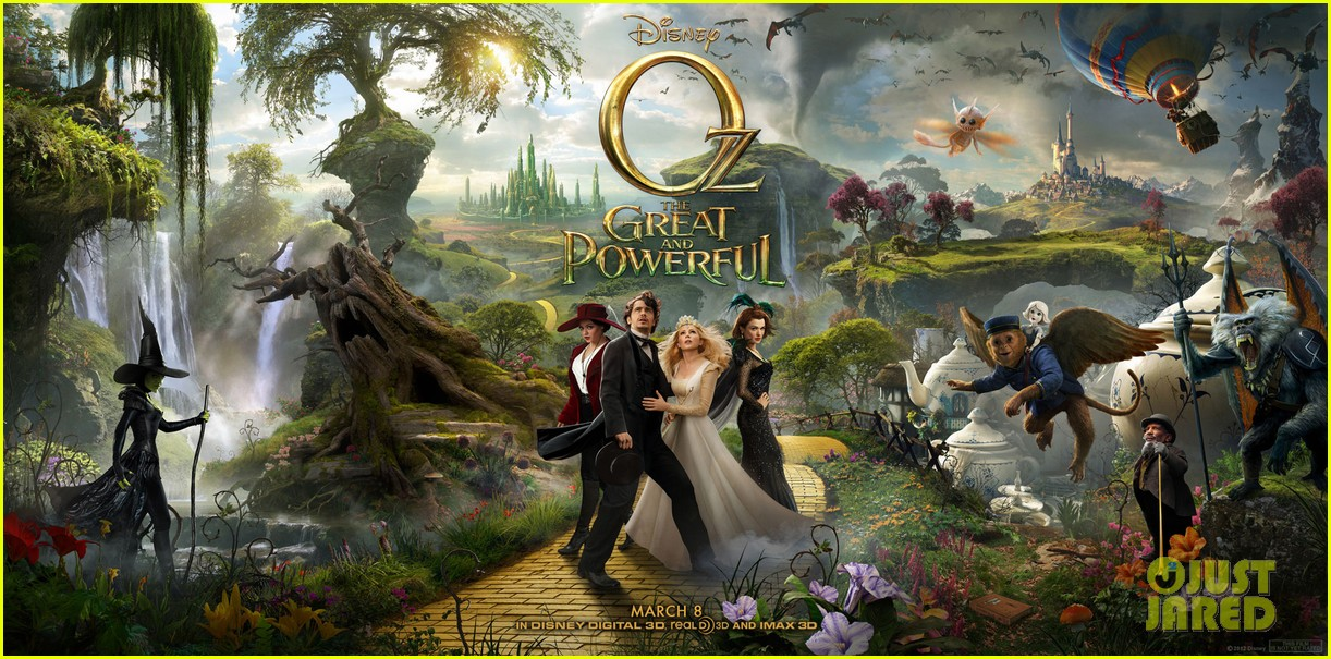 mila kunis new oz the great and powerful poster pics 052756662
