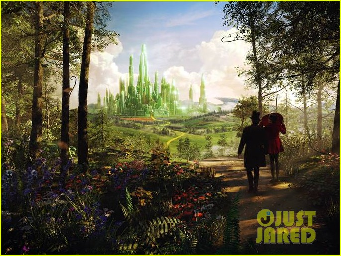 mila kunis new oz the great and powerful poster pics 152756672