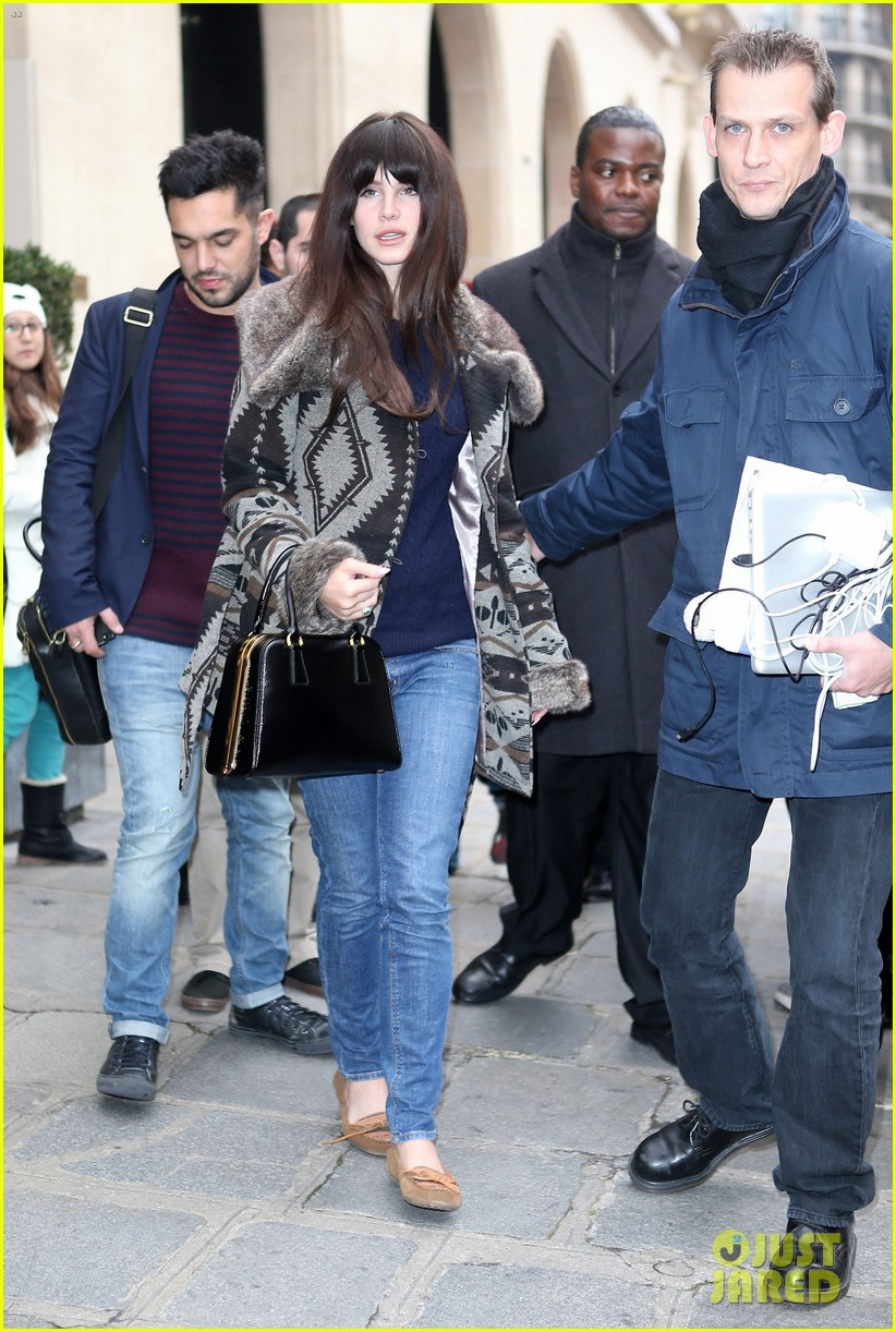 lana del rey scotts restaurant with barrie james oneill 092757634