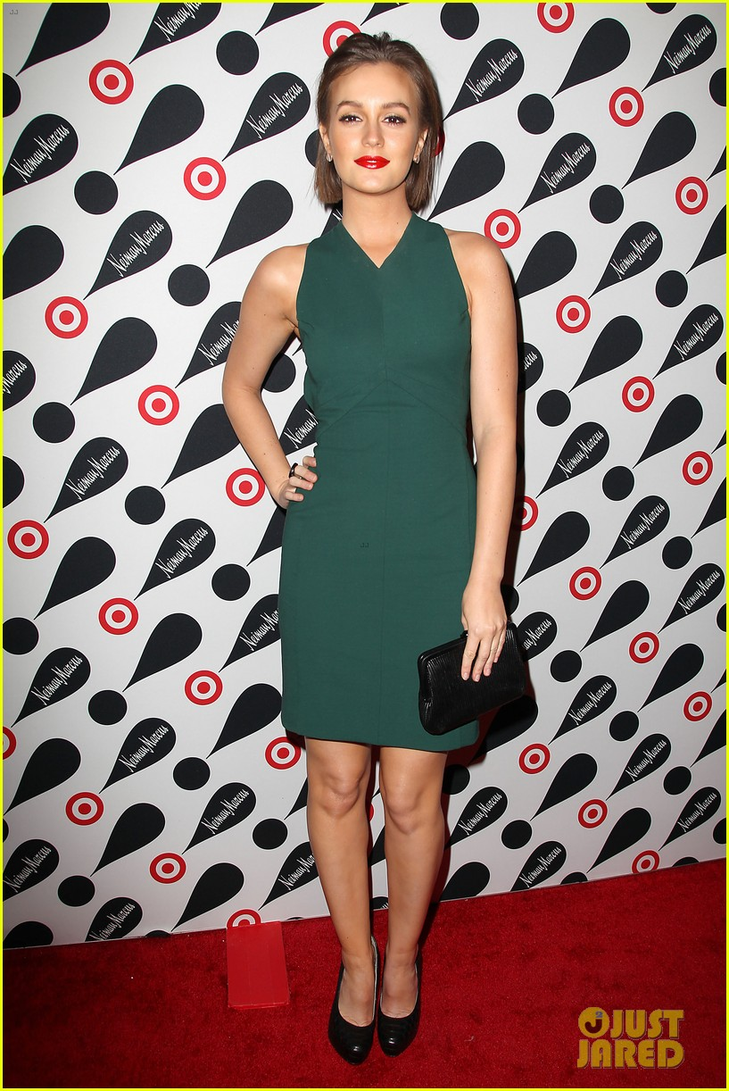 leighton meester shay mitchell target twosome 012765663